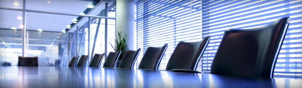Brokerage Services and Products Boardroom Image
